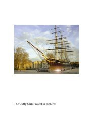 The Cutty Sark Project in pictures
