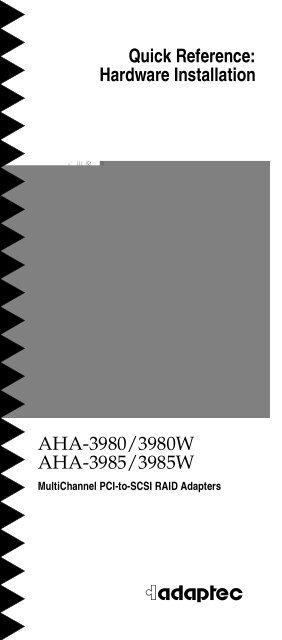 ADAPTEC AHA-39853985W PCI SCSI CONTROLLER DRIVER FOR MAC