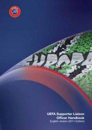 UEFA Supporter Liaison Officer Handbook - Football Association of ...