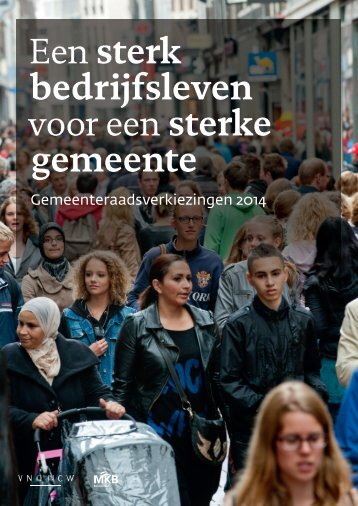 Een sterk bedrijfsleven voor een sterke gemeente - MKB-Nederland