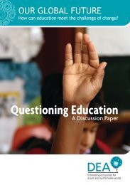 Questioning Education - Support