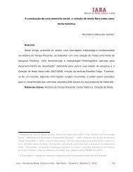 A construção de uma memória social: a coleção de ... - Iara - Senac