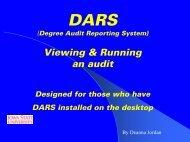 Running An Audit