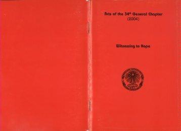 Witnessing to Hope - oblate province of jaffna: omi jaffna