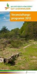 Veranstaltungen Leidenhausen 2012 - Forum Wahner Heide ...