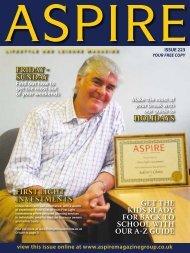 FRIDAY - SUNDAY HOLIDAYS GET ThE kids ... - Aspire Magazine