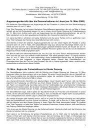 Augenzeugenbericht über die Demonstrationen in Lhasa (am 14 ...