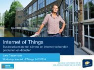 Internet of Things - workshop 1-12-2014
