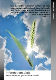 Ausgabe Mai / Juni 2010 - FMG Lausen