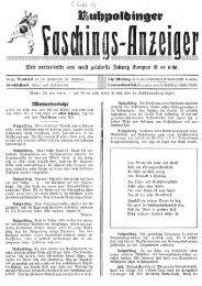 Faschingszeitung aus dem Jahre 19?? - Wetzstoana