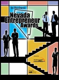 Nevada Entrepreneur Awards - Las Vegas Sun