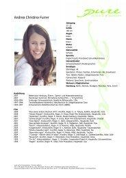 Furrer, Andrea Christina 09 - pure actors and presenters