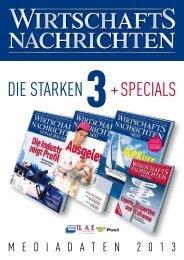 Mediadaten 2013 - Wirtschaftsnachrichten