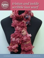 tristan and isolde scribble lace scarf