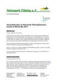 Naturpark Fläming e.V.