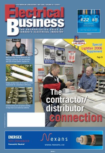 May 2006.pdf - Electrical Business Magazine