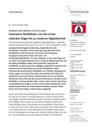 Faszination Modellbahn: von den ersten rollenden Zügen ... - Press1
