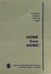 Report on Boarding Out Schemes for Older People in Ireland