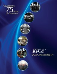 2010 Annual Report - RTCA