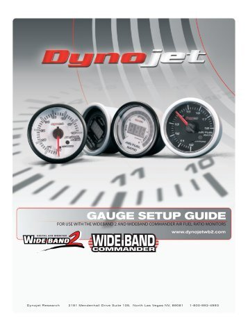power commander auto-tune manual