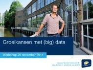 Presentatie groeikansen met data 26 november