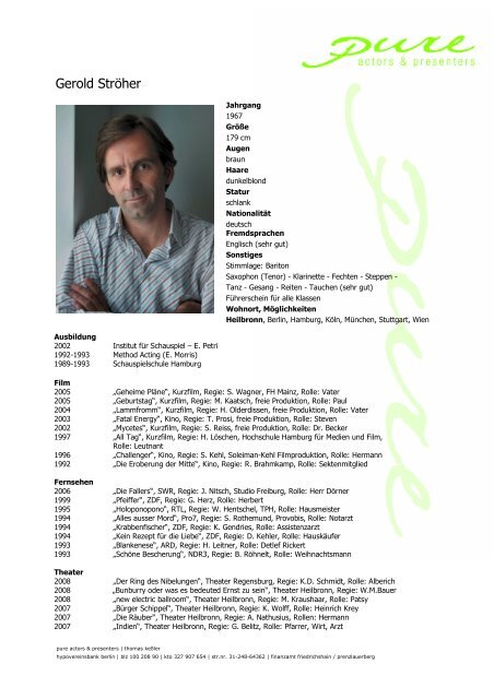 Ströher, Gerold 08 - pure actors and presenters