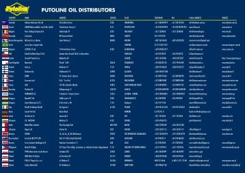 PUTOLINE OIL DISTRIBUTORS