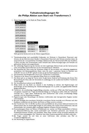 Standardvorlage Philips DACH