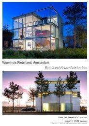 Rieteiland House Amsterdam - Hans van Heeswijk architecten
