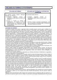 Vigilanza sui farmaci e fitoterapici - Unità di Informazione sul Farmaco