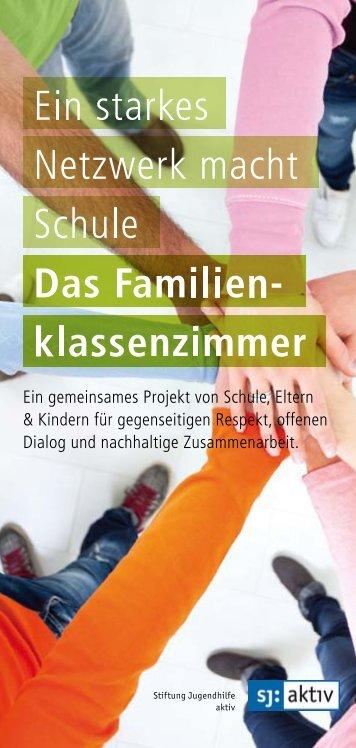 Familienklassenzimmer - Stiftung Jugendhilfe aktiv