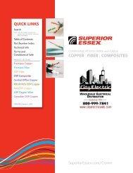 Superior Essex Product Catalog at City Electric