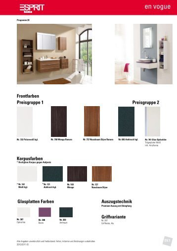 bel preisgruppe 3 lackfr. Black Bedroom Furniture Sets. Home Design Ideas