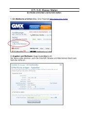 GMX-Mailkonto errichten - FT5-6Lernseite