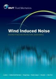 Wind Induced Noise brochure - BMT Fluid Mechanics