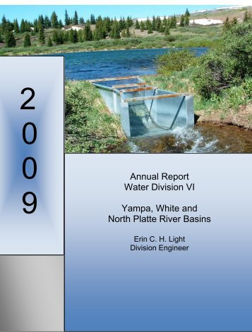 Division 6 Annual Report - Colorado Division of Water Resources