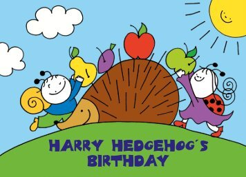 Harry Hedgehog's Birthday
