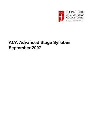aca case study length