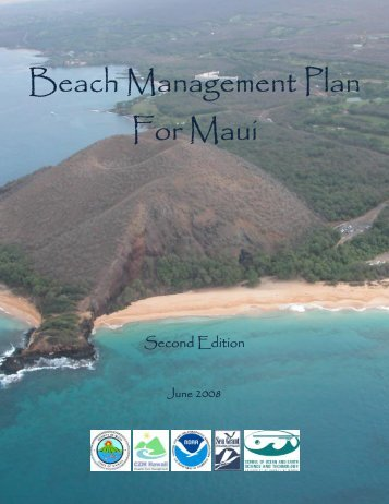 Beach Management Plan For Maui - Sea Grant College Program