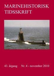 Nr. 4 / 2010 - Marinehistorisk Selskab og Orlogsmuseets Venner