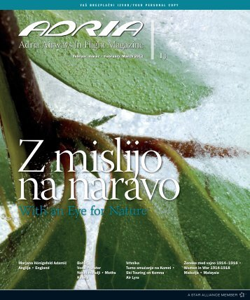 With an Eye for Nature - Adria Airways