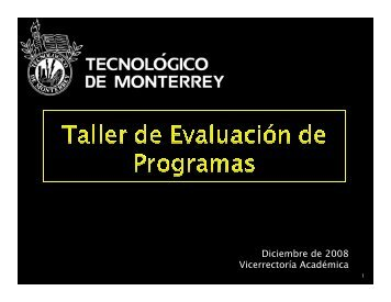 CRITERIOS - Tecnológico de Monterrey