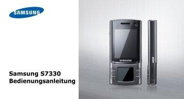 Samsung-S7330-Bedienungsanleitung.pdf ... - Fonmarkt.de