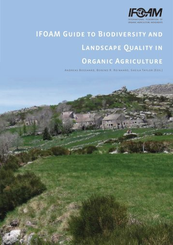 IFOAM Guide to Biodiversity and Landscape Quality in Organic ...