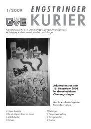01/09 - Engstringer Kuriers