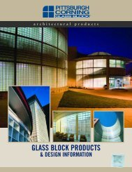 Architectural Products - Hawaii Glass Block