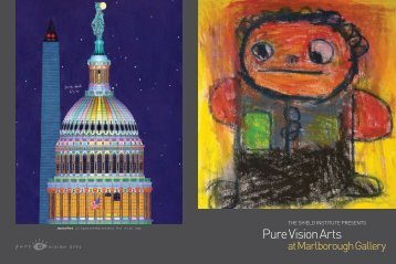 Pure Vision Arts at Marlborough Gallery, June