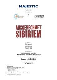 Kinostart: 10. Mai 2012 PRESSEHEFT - MAJESTIC FILMVERLEIH ...