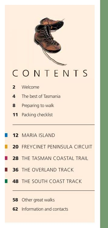 Great Walks of Tasmania - Latrobe Visitor Information Centre