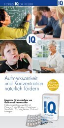 Fokus IQ Flyer.pdf - Herzlich willkommen bei Quintessenz health ...